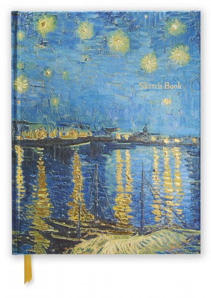 Vincent Van Gogh: Starry Night Over the Rhone Sketch Book