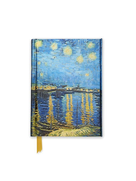 Vincent Van Gogh: Starry Night Over the Rhone Night Pocket Journal