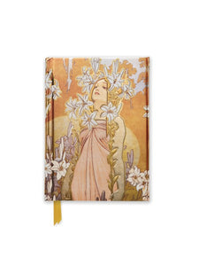 Alphonse Mucha: Lily Pocket Journal