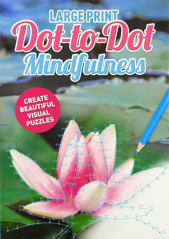 Dot To Dot Large Print Mindfulness