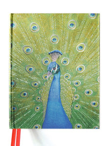 Peacock in Blue and Green Sketch Book