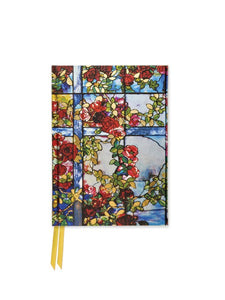 Louis Comfort Tiffany: Trellised Rambler Roses Pocket Journal