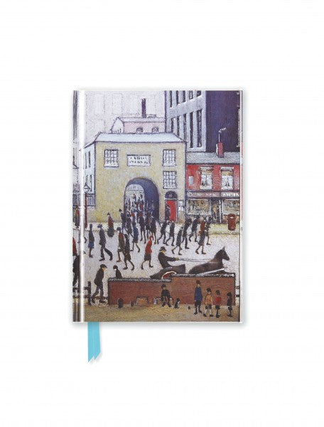 LS Lowry: Coming From The Mill Pocket Journal