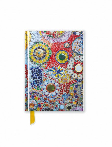 Gaudi Inspired Mosaic Pocket Journal