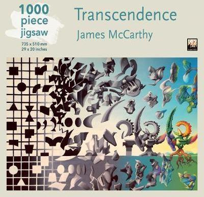 James McCarthy -Transcendence 1000 Piece Puzzle