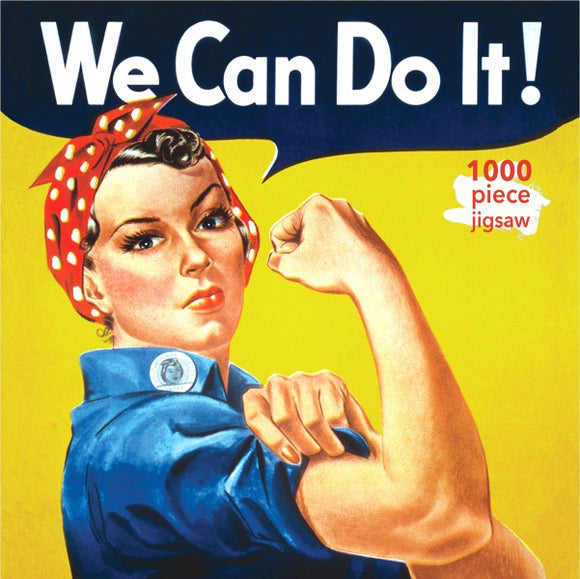 We Can Do It! (Rosie Riveter) 1000 Piece Puzzle