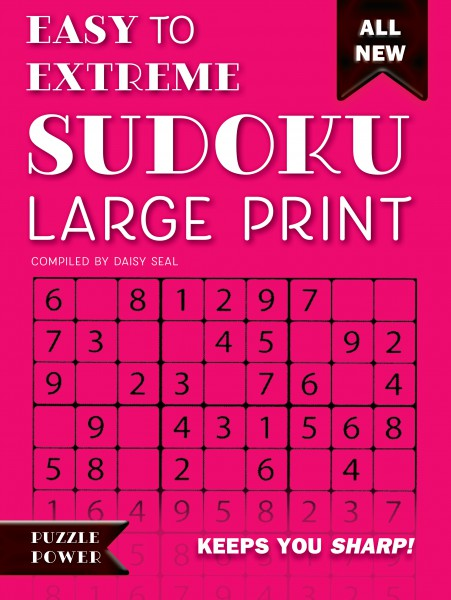 Easy to Extreme Sudoku Large Print