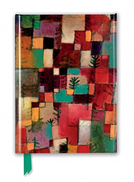 Paul Klee: Redgreen And Violet-Yellow Rhythms Journal