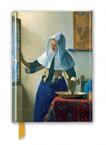 Johannes Vermeer: Young Woman With Water Pitcher Journal