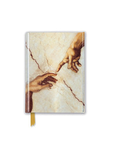 Michelangelo: Creation Hands Pocket Journal