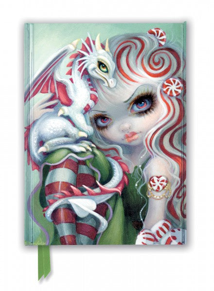 Jasmine Becket-Griffith: Peppermint Dragonling Journal