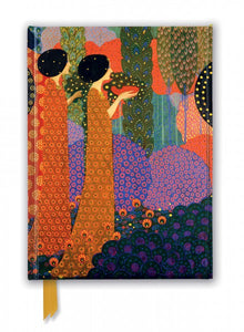 Vittorio Zecchin: Princesses In The Garden From A Thousand and One Nights Journal