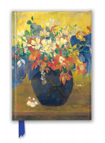 Paul Gauguin: A Vase Of Flowers Journal (National Gallery)