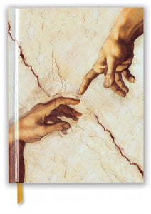 Michelangelo: Creation Hands Sketch Book