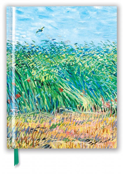 Vincent Van Gogh: Wheat Field With A Lark Sketch Book