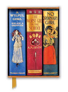 Bodleian Libraries: Three Book Spines Great Girls Journal