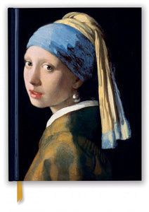Johannes Vermeer: Girl With A Pearl Earring Sketch Book