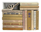 Assorted Light Brown - 3 Feet of Books