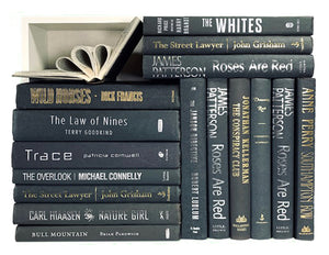 Assorted Grey - 3 Feet of Books