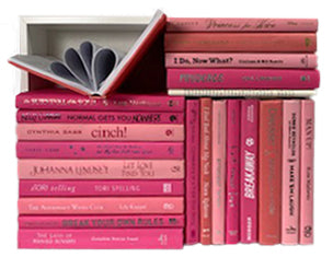 Assorted Pink - 3 Feet of Books