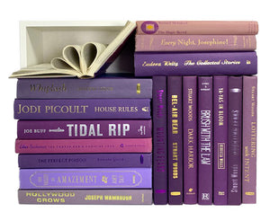 Assorted Purple - 3 Feet of Books
