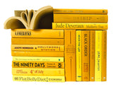 Assorted Yellow - 3 Feet of Books