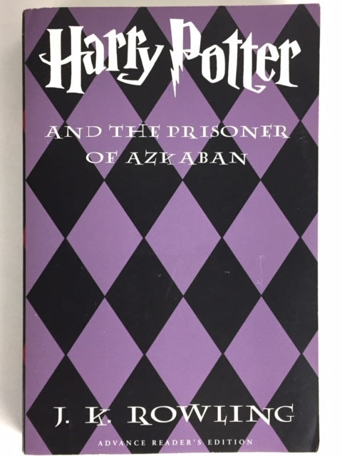 Rowling, J.K. Harry Potter and the Prisoner of Azkaban (advance reader's copy)