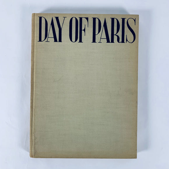 Kertesz, Andre. Day of Paris [first edition]