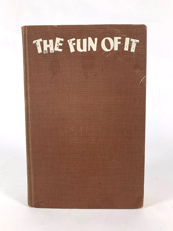 Earhart, Amelia. The Fun of It [first edition]