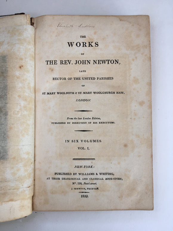 Works of the Reverend John Newton