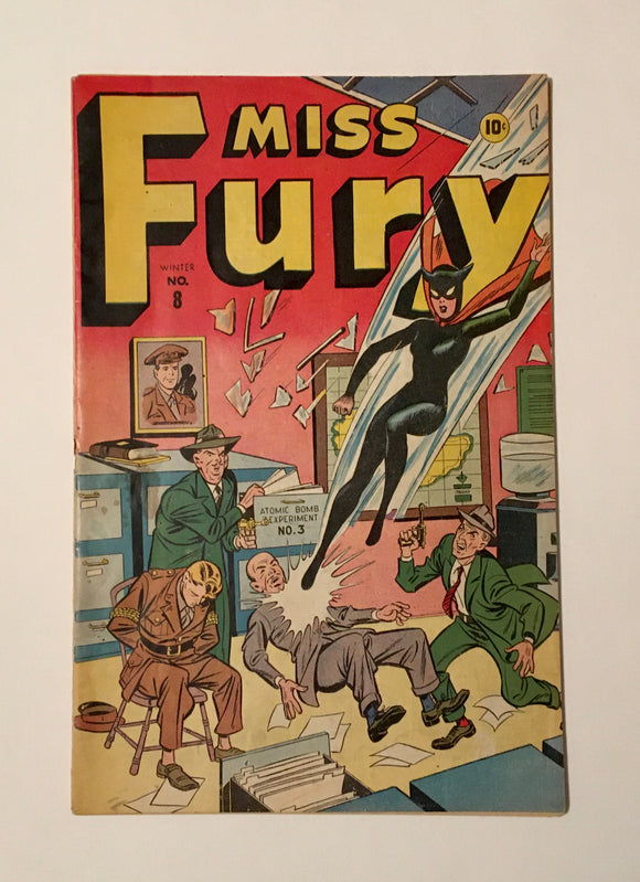 Mills, Tarpé. Miss Fury No. 8