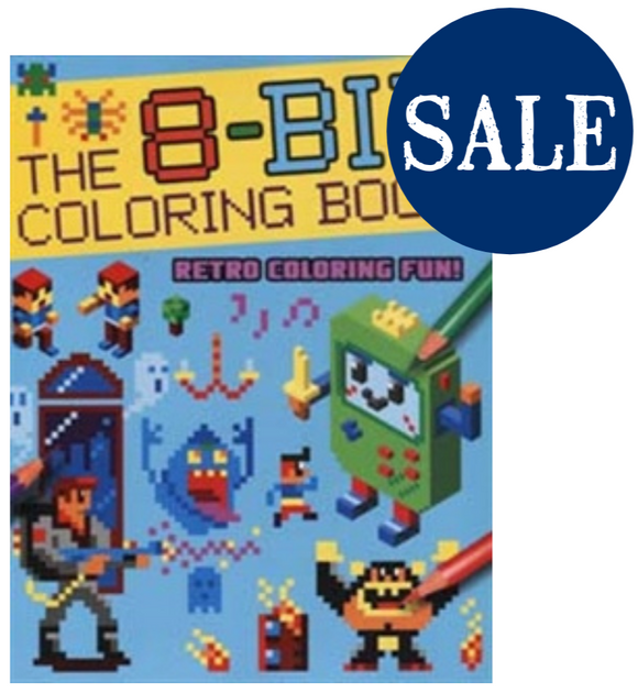 The 8-Bit Coloring Book