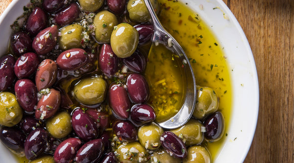 IL Massimo Seasoned Olives (pint)