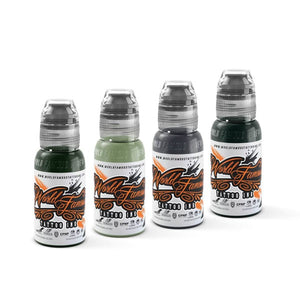 World Famous Tattoo Ink - Damian Gorski Sinful Spring Set 4 x 120ml