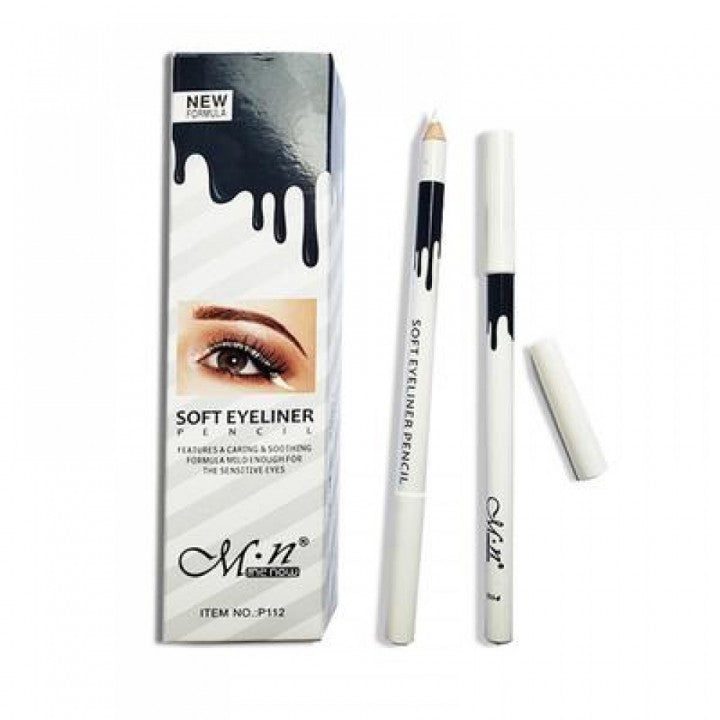 WHITE SOFT EYELINER FOR EYES
