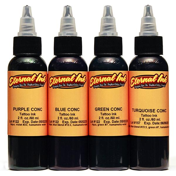 Eternal Ink Concentrates Set - 4pc - 30ml