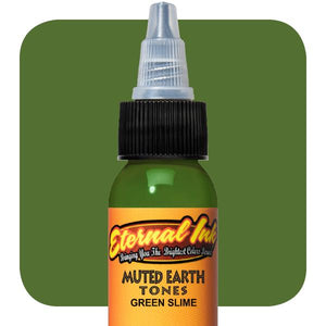 Eternal Ink - 30ml - Muted Earth - Green slime