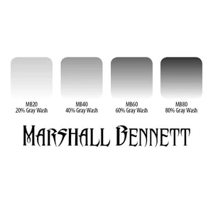 ETERNAL INK - MARSHALL BENNETT GREY WASH SET - 4PC - 30ML