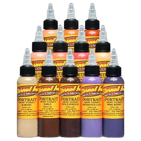 Eternal Ink - Portrait Skin Tones- 12pc - 30ml