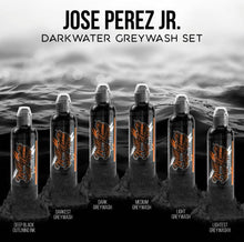 Load image into Gallery viewer, World Famous ink - Jose Perez Dark water gray work set 6pc - 120ml