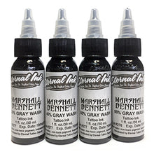 Load image into Gallery viewer, ETERNAL INK - MARSHALL BENNETT GREY WASH SET - 4PC - 30ML