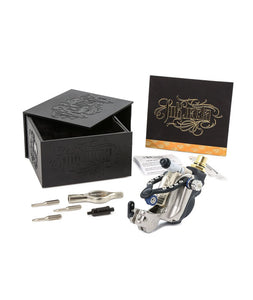 Inkjecta Eclipse Rotary tattoo Machine - Black Silver