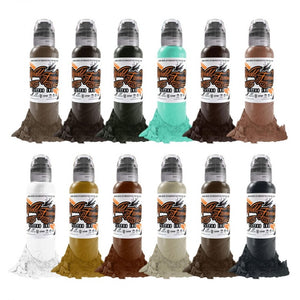 Complete Set of 12 World Famous Ink Pony Lawson Vintage Reserve Set 30ml