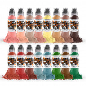 World Famous Ink - Oleg Shepelenko - Color Realism set (16x30ml)