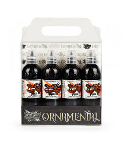 World Famous ink - Ryan Smith Ornamental set 4pc - 120ml