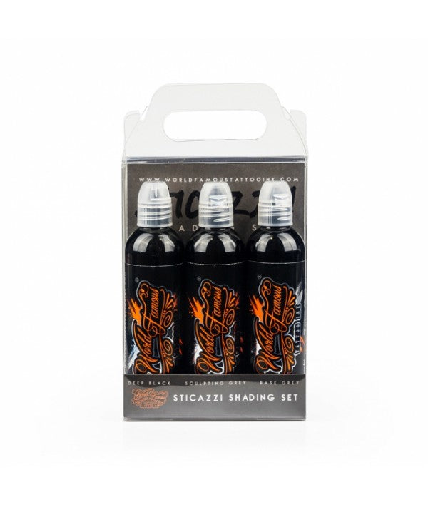 World Famous ink - sticazzi shading set 3pc - 120ml