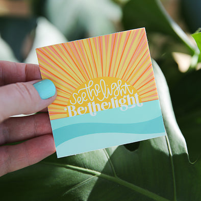 See the Light, Be the Light Sticker