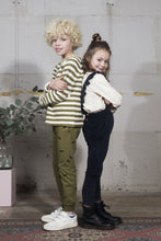 Afbeelding in Gallery-weergave laden, Sweater - Olive Stripe