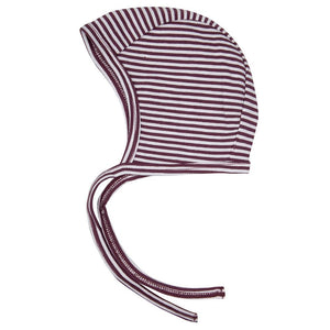 Sun Hat - Purple Striped