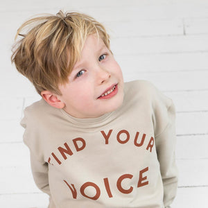 Sample Sweater Find Your Voice - Cement